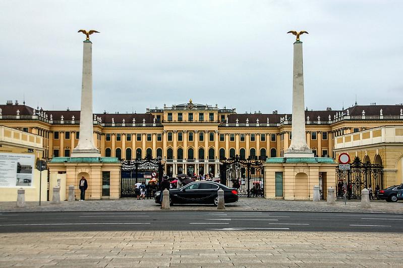熊布朗宮(Schloss Schonbrunn)大門 2