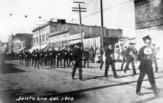 Parade, Santa Ana, circa 1908 | by Orange County Archives