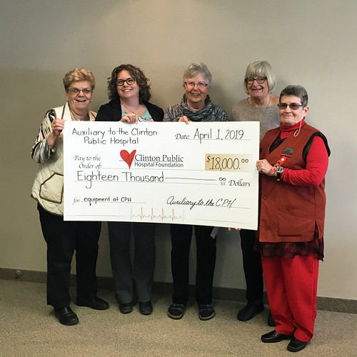 2019 CPH Auxiliary Donation web