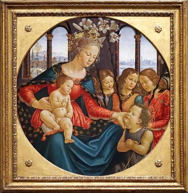 Vierge à l'Enfant de Domenico Ghirlandaio (Musée du Louvre, Paris)