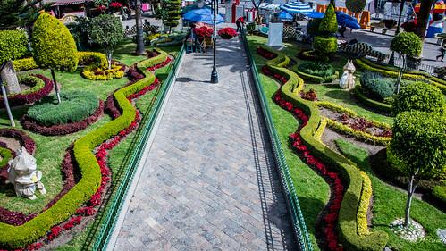 2018 - Mexico - Atlixco - Zócalo Garden