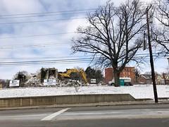 Remains of St. Andrew Catholic Church, Avondale, Cincinnati, OH