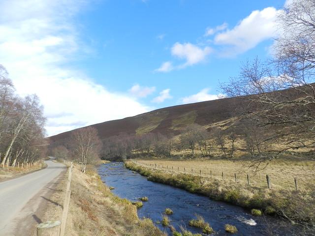 River Deveron, near Cabrach, Feb 2019