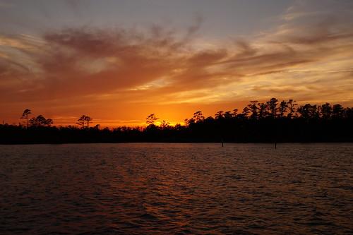 northcarolina northwestcreek fairfieldharbour sunset spectacularsunsetsandsunrises cloudsstormssunsetssunrises sony sonyphotographing sonya58