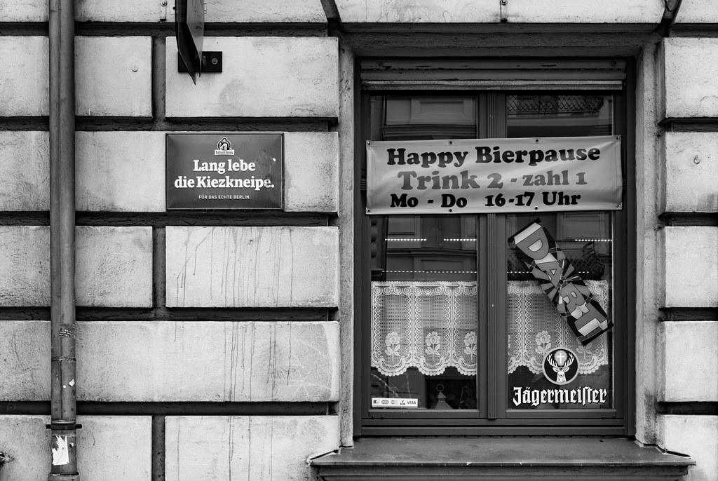 happy beer break - drink two pay one