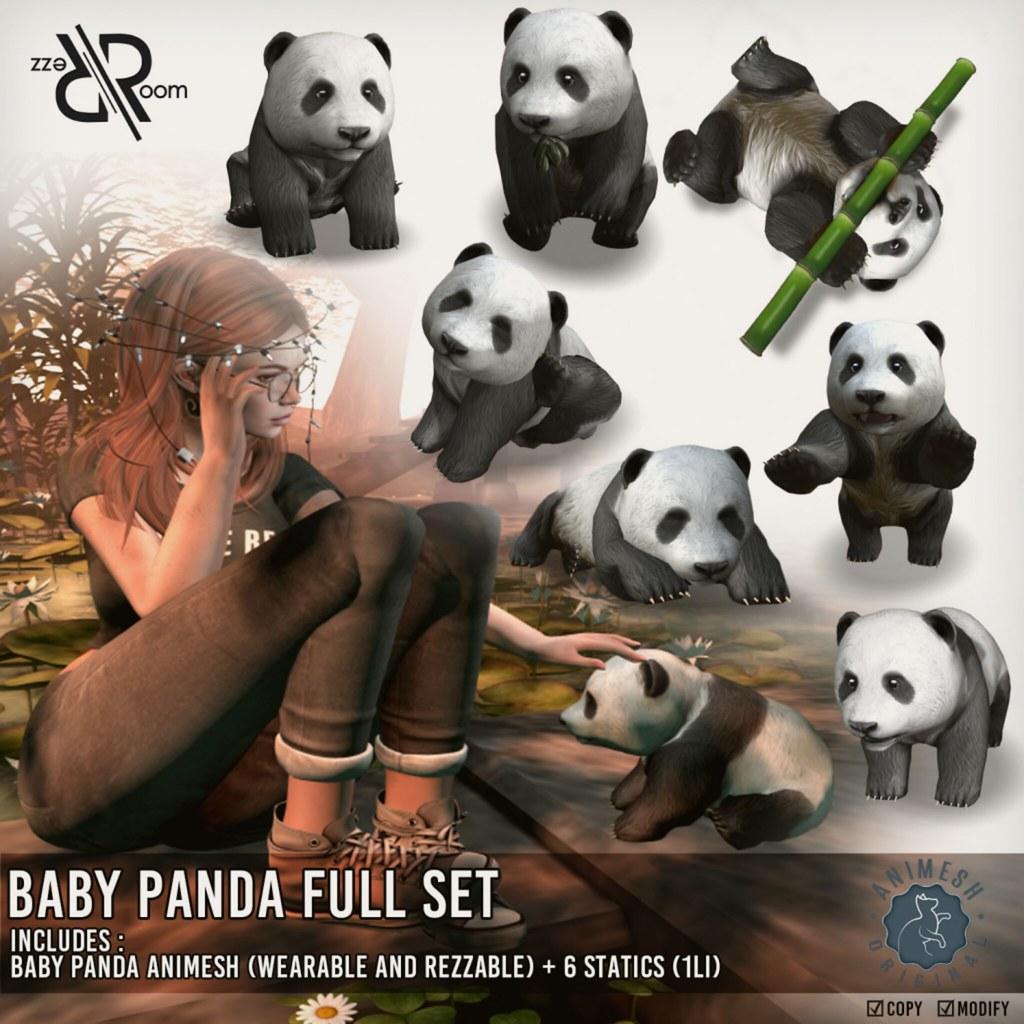 Baby Panda Animesh - TeleportHub.com Live!