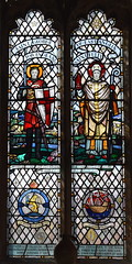 St George and St Felix (Margaret Edith Rope, 1949)
