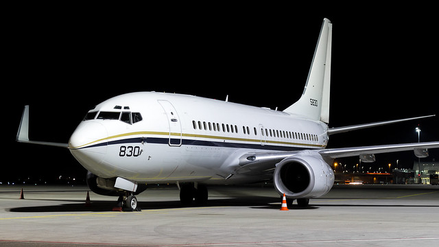 Boeing C-40A Clipper 165830 US Navy