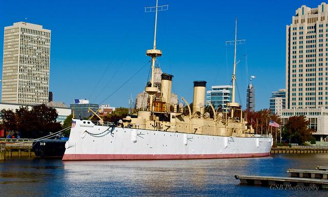USS Olympia (C-6, 1895), Philadelphia, Pennsylvania