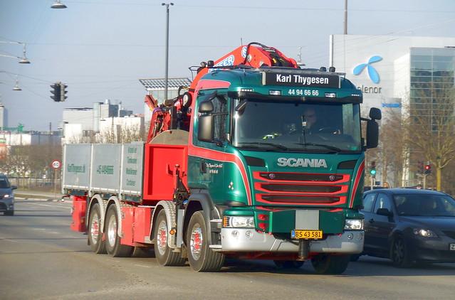 Scania G490 BS43581 tipper