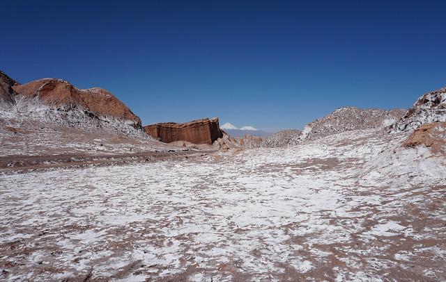 The Valley of the Moon (Valle de la Luna), San Pedro de Atacama, the Atacama Desert, Chile.