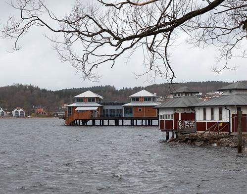Bathhouse at Lake Åsunden | by Thor Thorsson 1