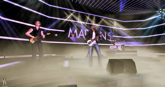 Maroon 5 Tribute @ House of V 3-8-2019 by Thunder Rock concerts in Second life