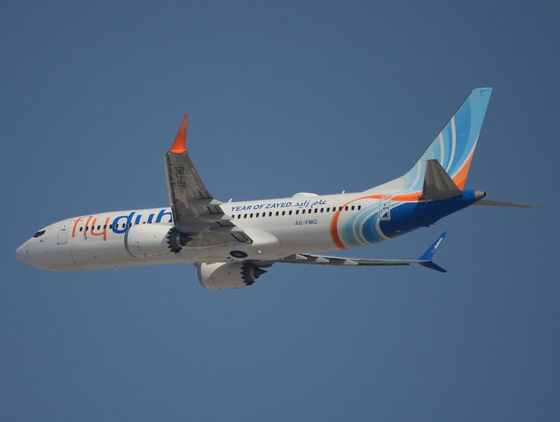 FlyDubai Boeing 737-8 Max A6-FMG cn 60976/7125 Year of Zayed