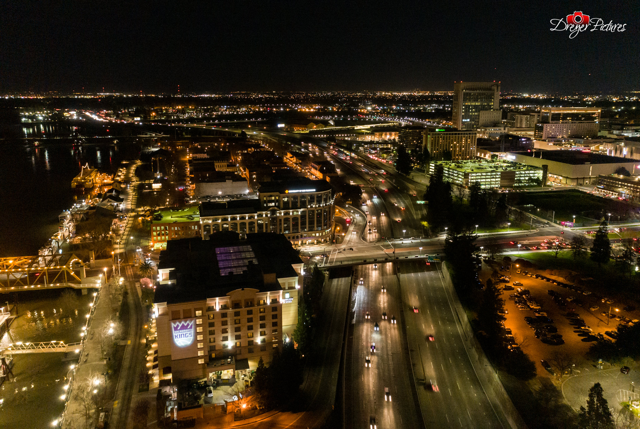 Sacramento at Night