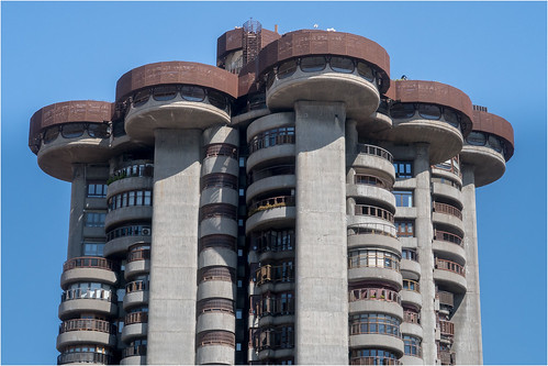 Apartment Block Saucers | by StevenMBeard