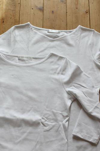 ドゥクラッセTシャツ 口コミ ボートネック 7分袖 浅Vネック 5分袖