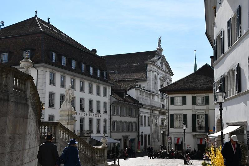 Hauptgasse Solothurn 06.04.2019