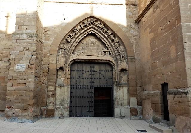Iglesia de San Andrés - Calahorra - La Rioja.