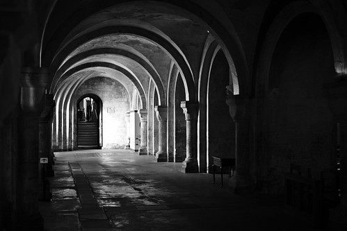 Crypt, Canterbury Cathedral | by jodw