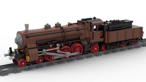 Class S 3/6 locomotive - K.Bay.Sts.B  347