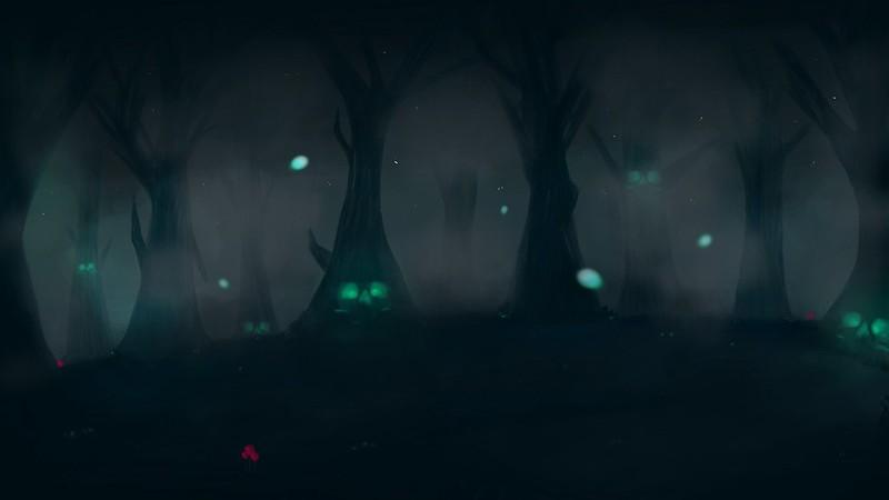 Обои лес, страх, темный, пятна картинки на рабочий стол, фото скачать бесплатно