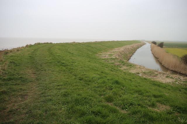 The Humber near Easington