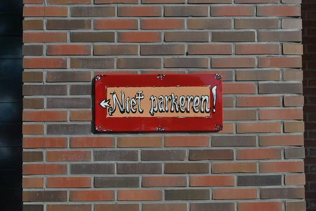 Niet parkeren (134FJAKA_1840)