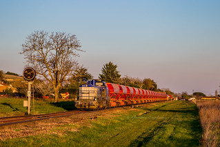 27 mars 2019 92 87 4185 005-3 Train K4 RVB Bergerac -> Libourne Saint-Magne-de-Castillon (33) | by Anthony Querleau