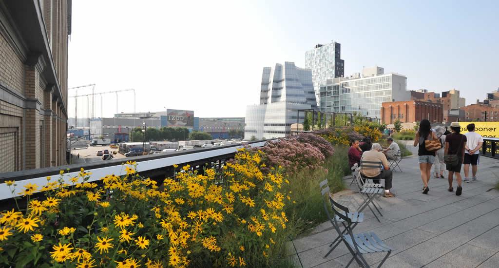 Onbekende bezienswaardigheden New York: The High Line (foto met dank aan Julienne Schaer) | Mooistestedentrips.nl