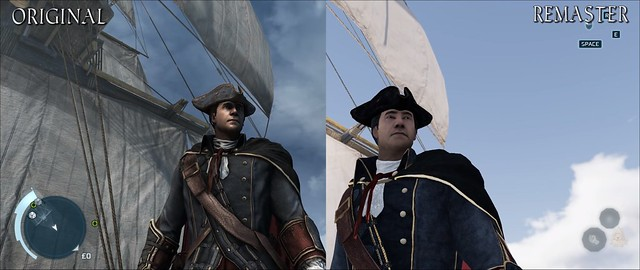 Confronto con Remaster 3 di Assassin's Creed
