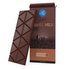 Buy Aadvik Camel Milk Chocolate - Almonds