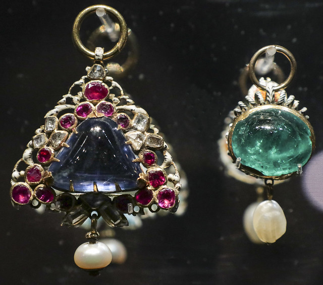 The Penruddocke Jewel and The Helyer Jewel, England, 17c
