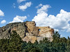 Crazy Horse Memorial is a mountain monument in the Black Hills / Custer County / South Dakota by Udo S
