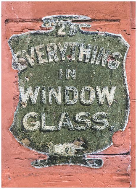 Everything in Window Glass, Glasgow