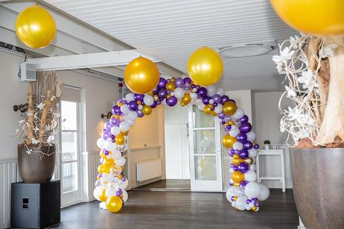 Bruiloft organic ballonnenboog | by BallondecoNL