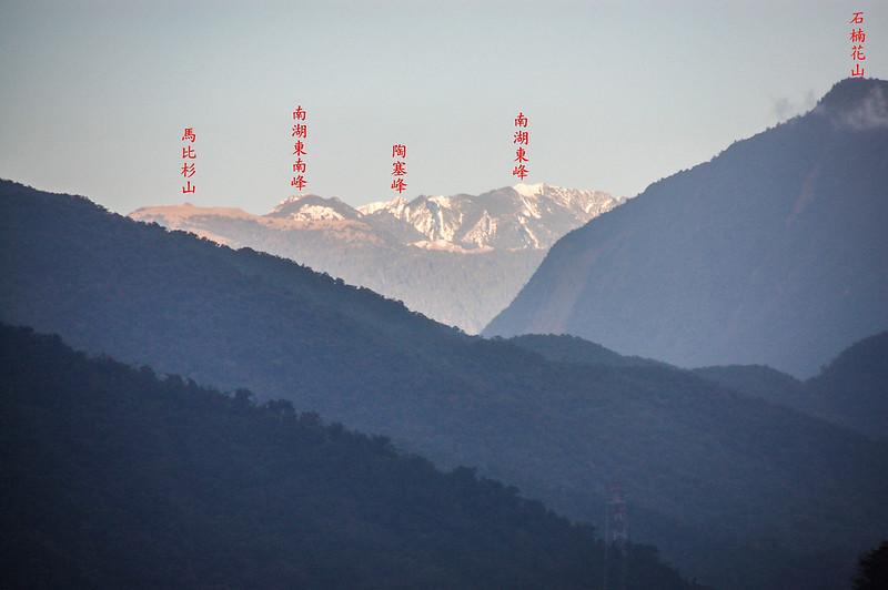 南湖群山(From 大濁水橋)