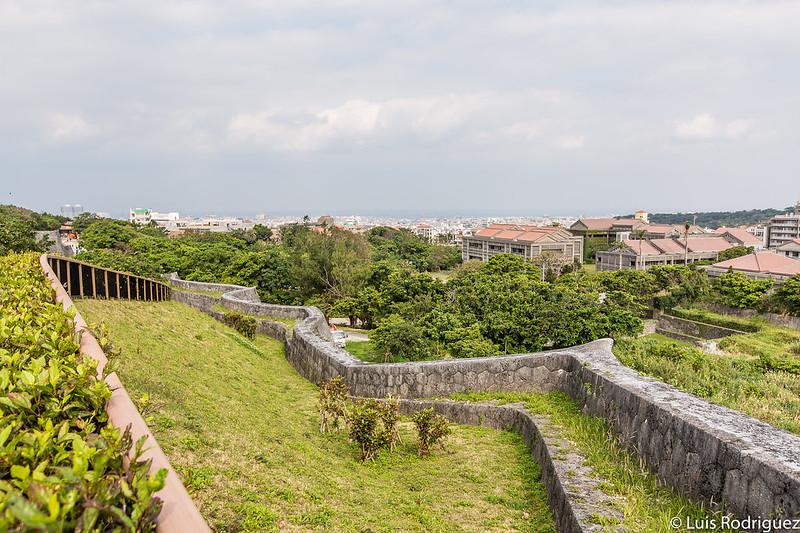 Muros del castillo Shuri