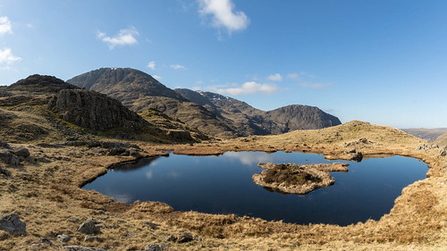 Great End and Lingmell from Seathwaite Fell | by johnkaysleftleg