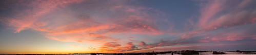 clouds colors landscape madison panoramic sky wi sunset