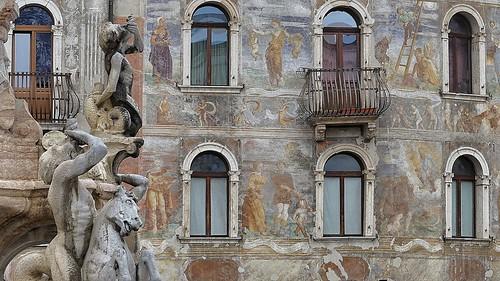 Trento, Casa Cazuffi - Rella