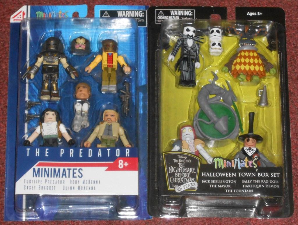 Nightmare Before Christmas Halloween Town Box Set Minimates
