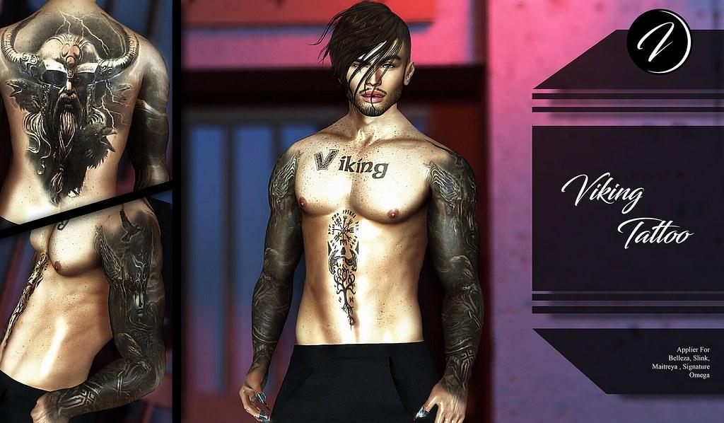 ..:: INKer ::.. Viking Tattoo - TeleportHub.com Live!