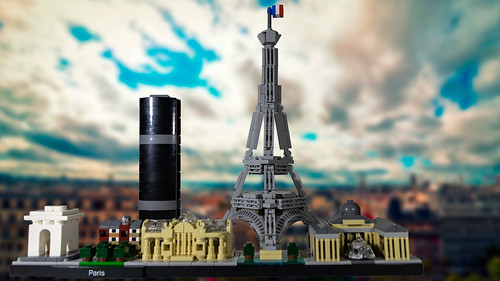 Paris Skyline | by Michael A. Garstin