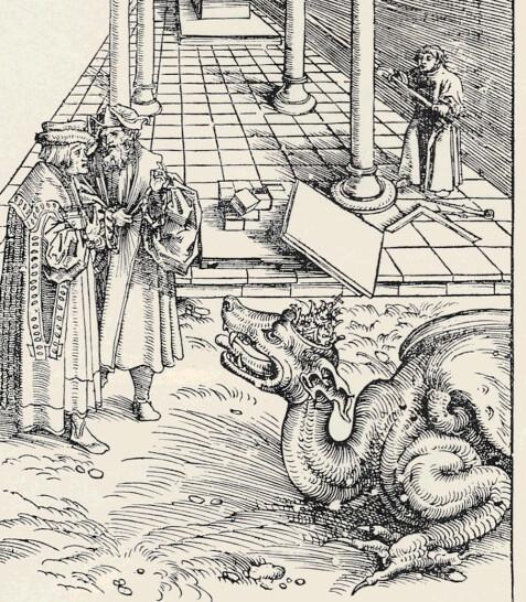 Lucas Cranach d. Ä., Die Vermessung des Tempels, Septembertestament 1522