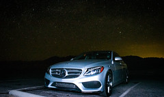 'cause in the sky full of stars.. I think I saw you 😍♥️ #coldplay #mercedes #nightsky #deathvalley #lasvegas