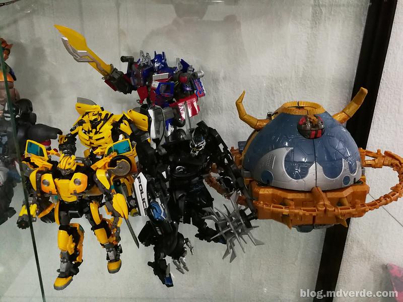 Mi colección de Transformers Masterpiece Movie