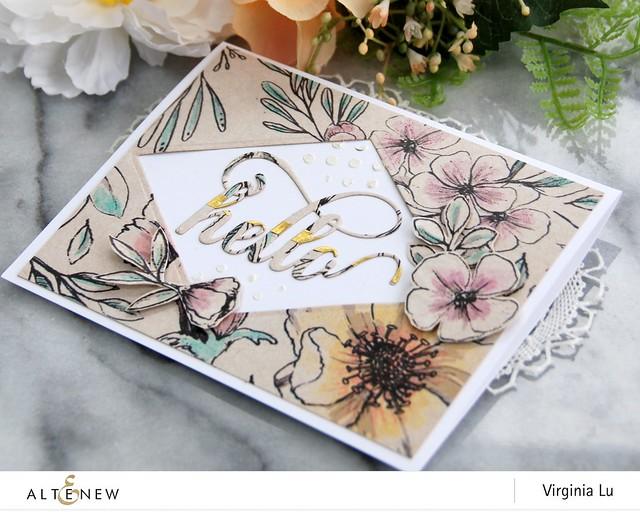Altenew-BotanicalRhapsody-GoldenTrim-EmbossingPaste-Viginia#3