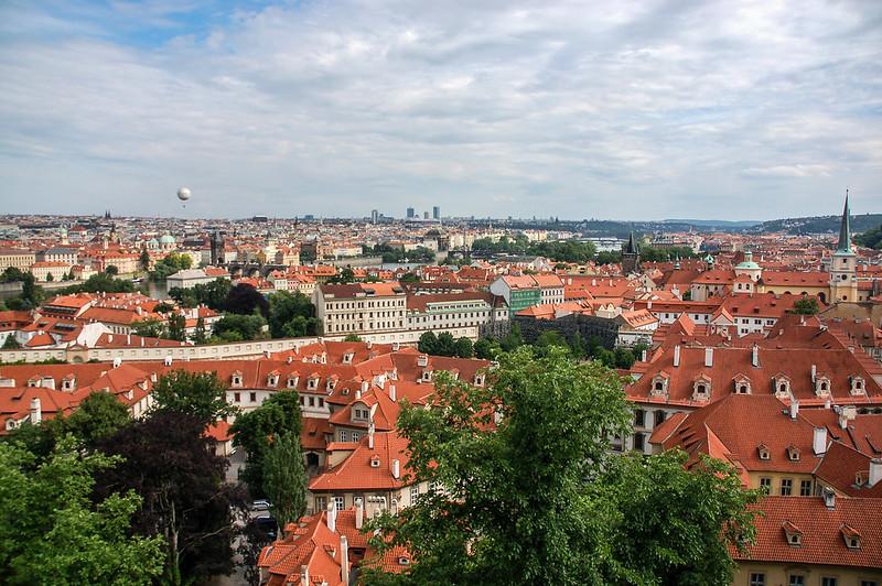 布拉格城堡俯瞰市區 3