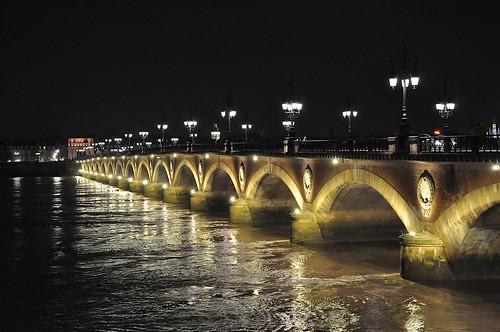 Pont de pierre Bordeaux